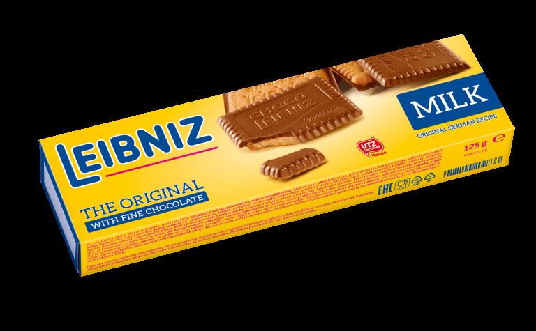 Choco milk polomáčené sušenky v mléčné čokoládě 125g