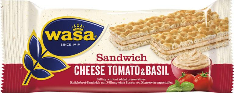 Sandwich paradajky a bazalka 40g
