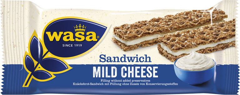 Sandwich mild cheese 30g