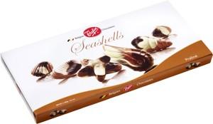 Mušle – dezert z belgickej čokolády 400g