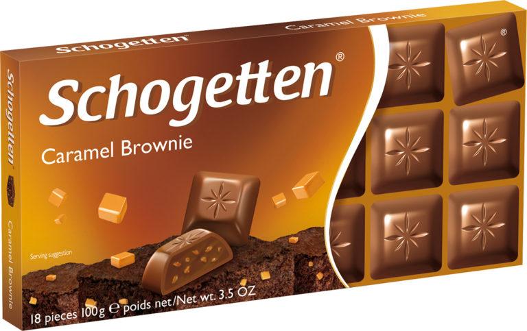 Schogetten čokoláda caramel brownie 100g