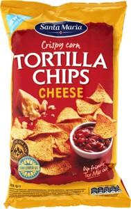 Tortilla chips sýrové 185g