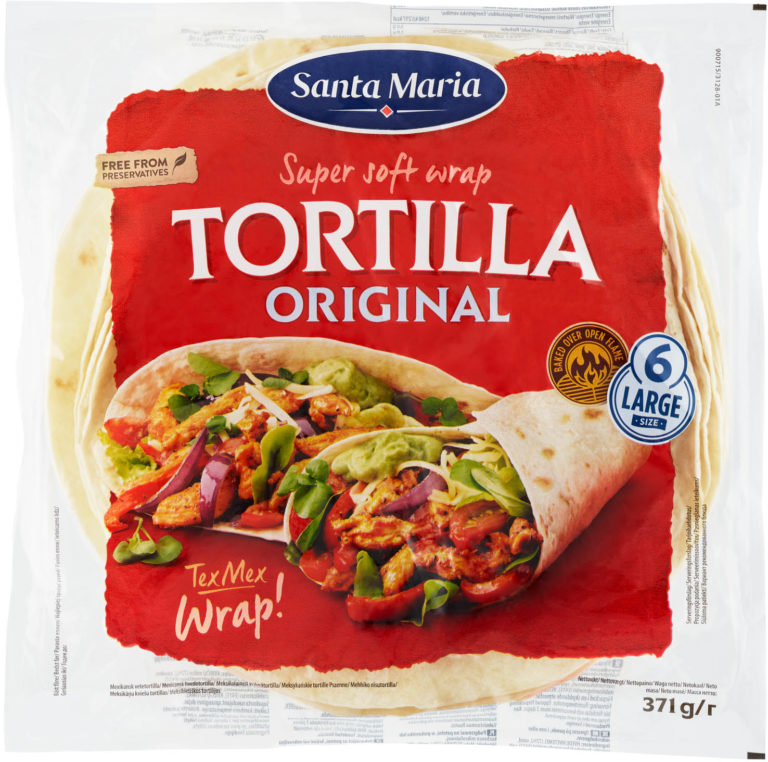 Tortilla original large 371g