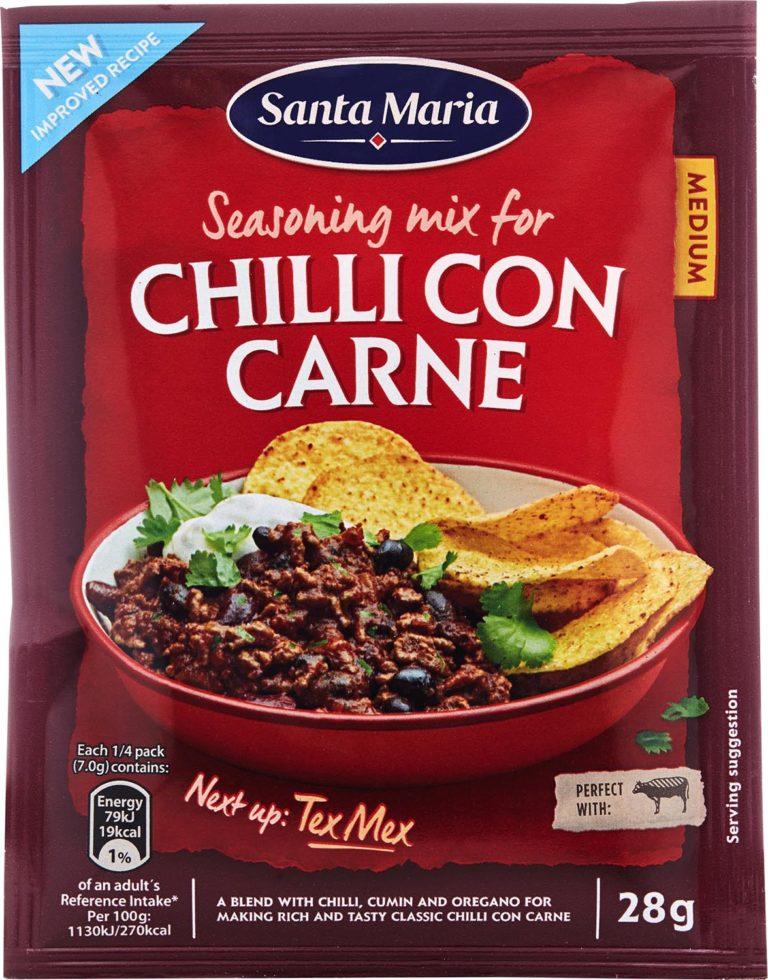 Chili Con Carne Seasoning Mix směs koření 50g