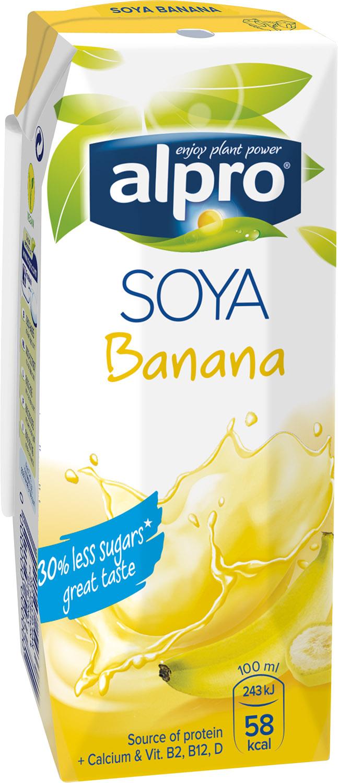 Sójový nápoj banánový 250ml