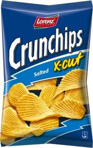 Crunchips X-cut slané 75g