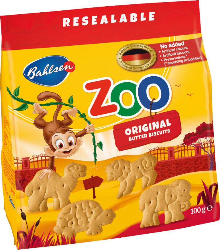 Zoo Original butter biscuits 100g