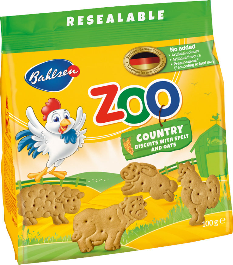 Zoo Country biscuits with spelt and oats 100g