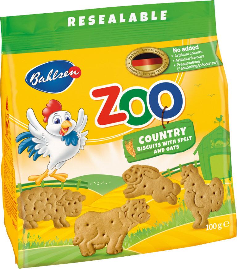 Zoo Country sušienky so špaldovou múkou a ovsenými vločkami 100g
