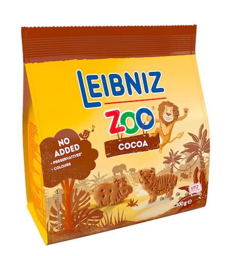 Zoo Jungle kakaové sušenky 100g