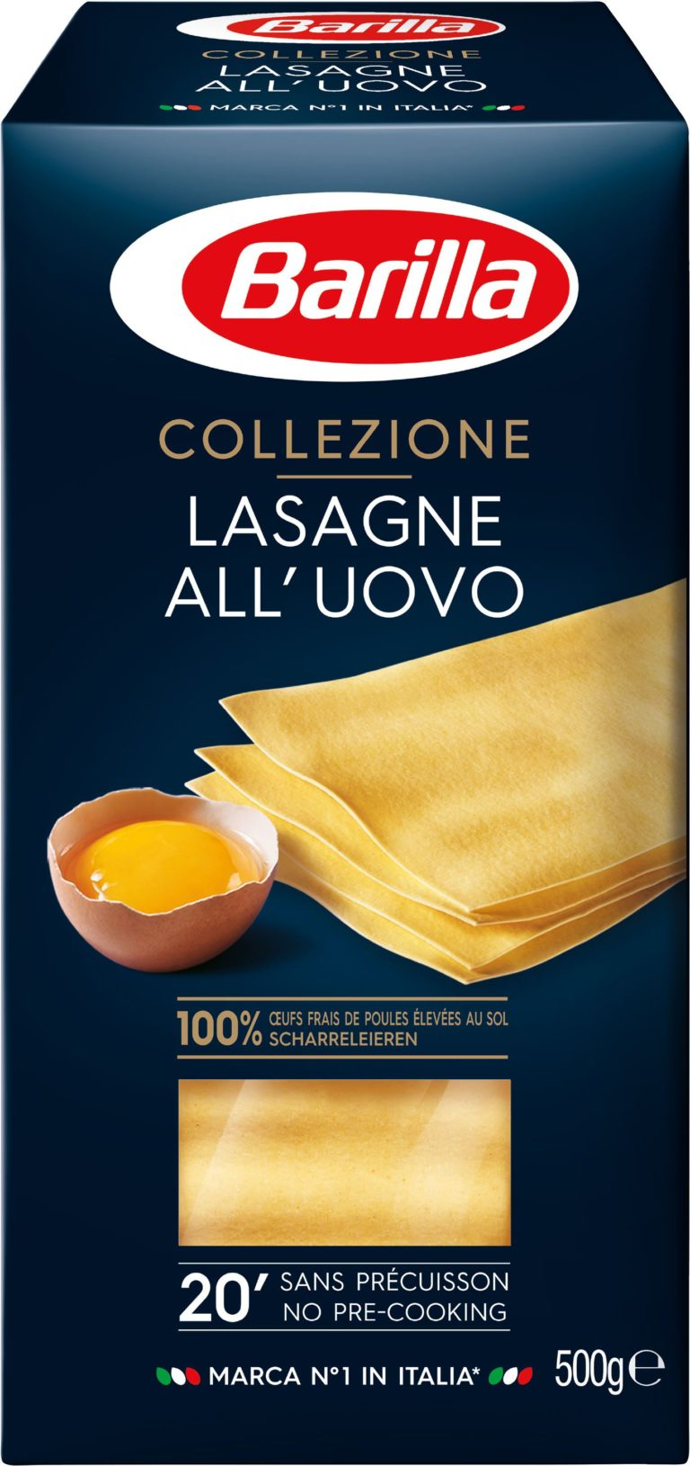 Lasagne 500g