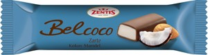Belcoco marzipan bar with coconut 60g