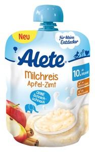 mliečna ryža jablčná 85g