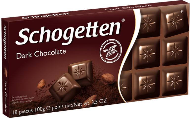 Schogetten čokoláda hořká 100g