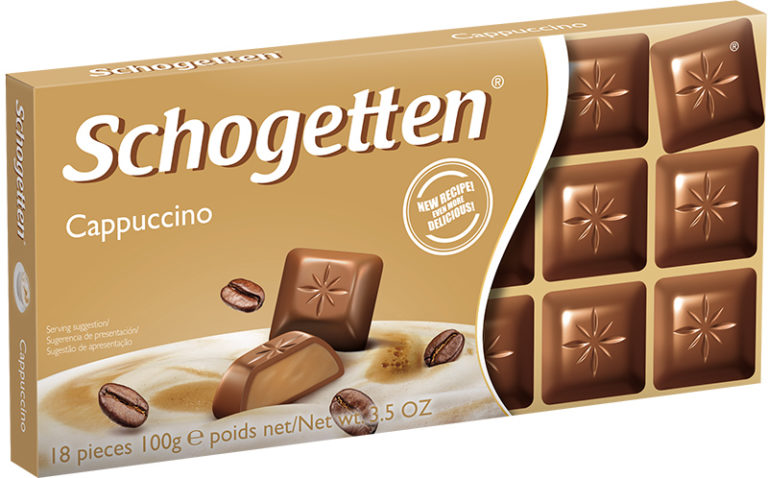 Schogetten čokoláda cappucino 100g