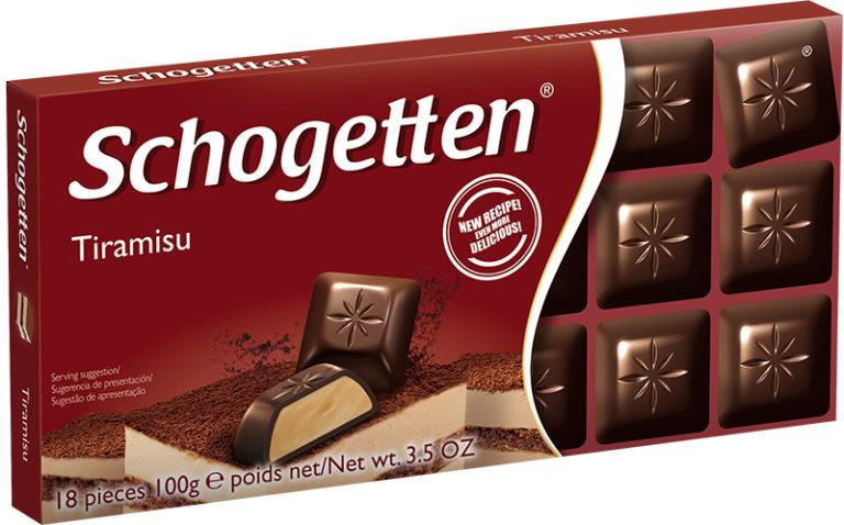 Schogetten čokoláda tiramisu 100g