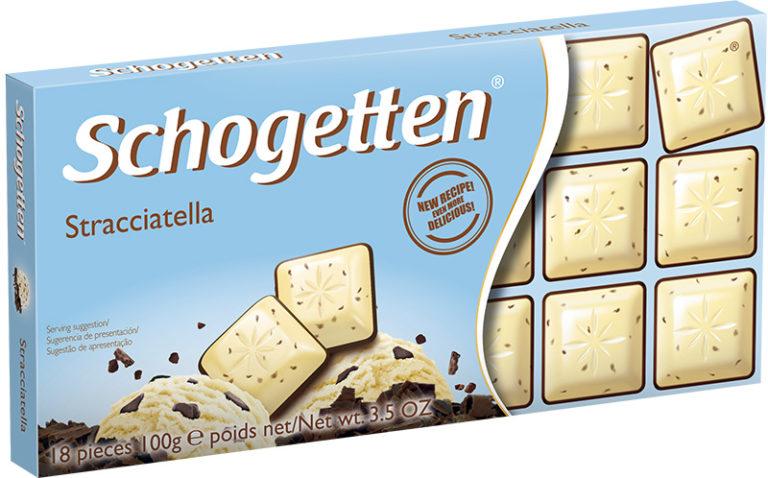 Schogetten čokoláda striaccatella 100g