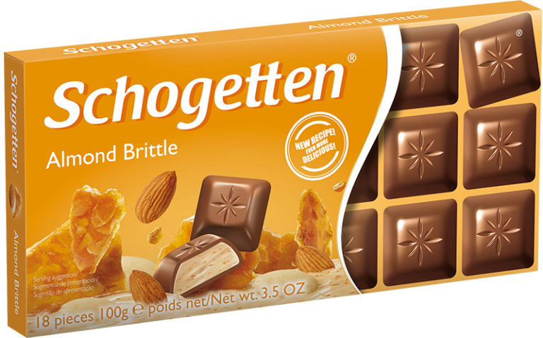 Schogetten čokoláda mandlová 100g