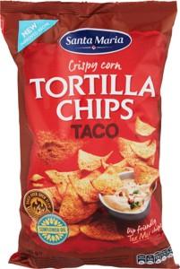Tortilla chips taco 185g