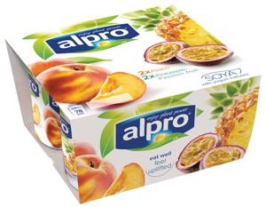 Alternativa jogurtu broskev / ananas – marajuca 4x125g