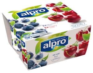 Alternativa jogurtu borůvka třešeň 4x125g