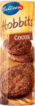 Hobbits kakao – ovesné kakaové sušenky 250g