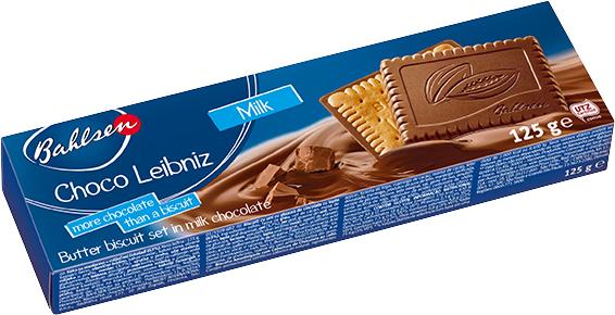 Choco milk polomáčané sušienky v mliečnej čokoláde 125g