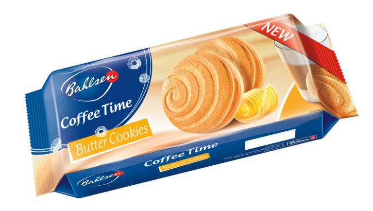 Coffee Time – Jemné maslové sušienky 150g