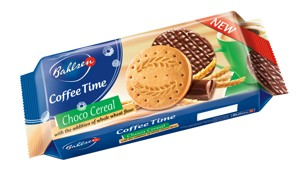 Coffee Time – cereálne sušienky máčené v čokoláde 143g