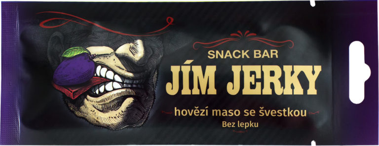 Beef bar with plum 17g