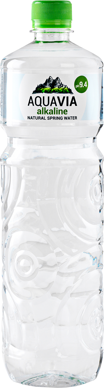 Pramenitá zásaditá voda 1L