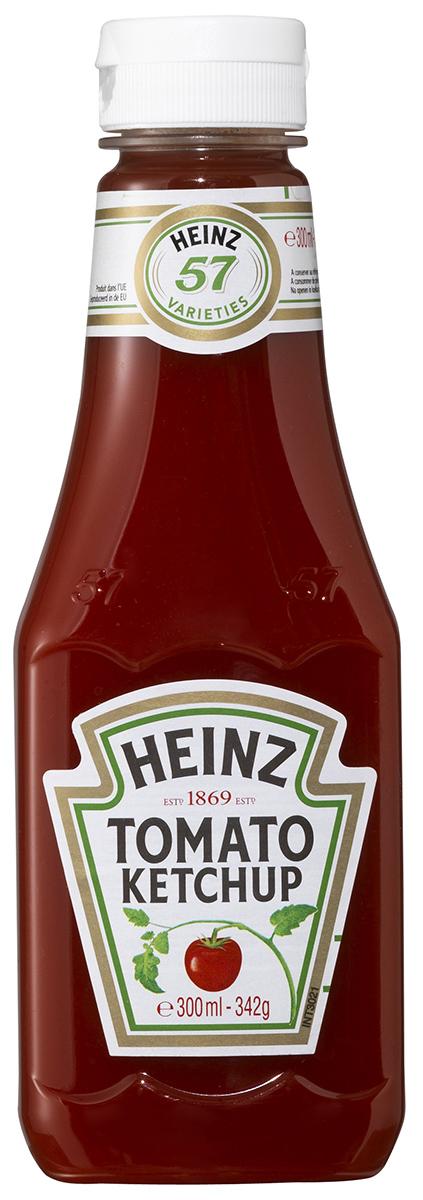 Rajčatový  kečup jemný 342g