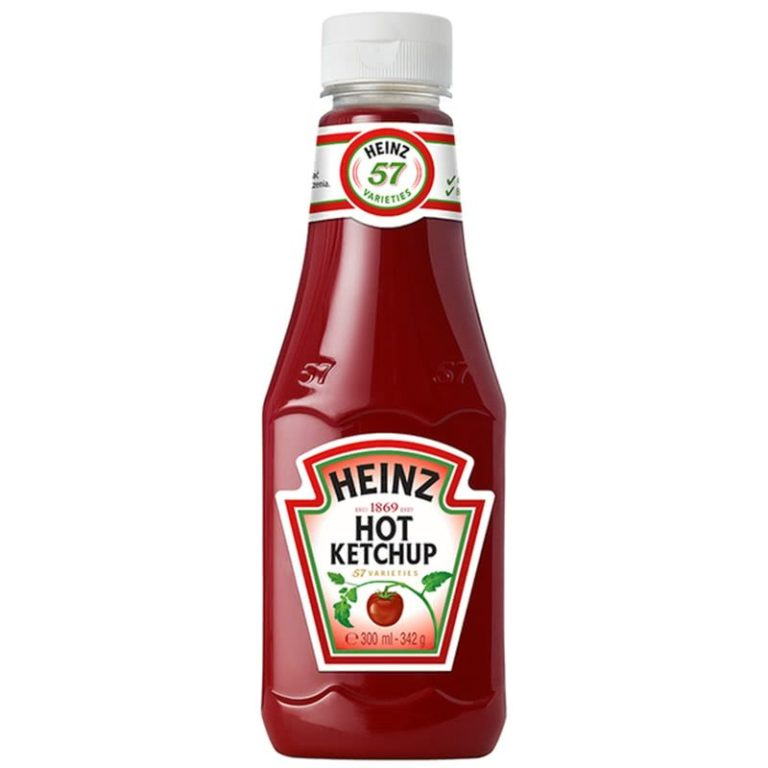 Rajčatový  kečup ostrý 342g