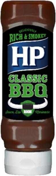 HP BBQ omáčka classic 465g