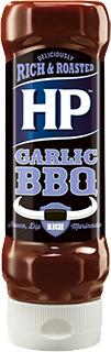HP BBQ omáčka česneková 465g