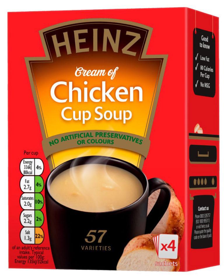Polévka kuřecí 4x17g