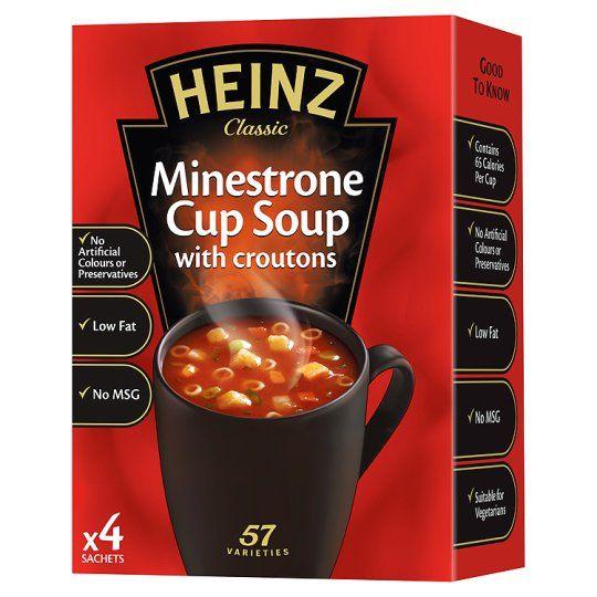Polévka minestrone 4x18g
