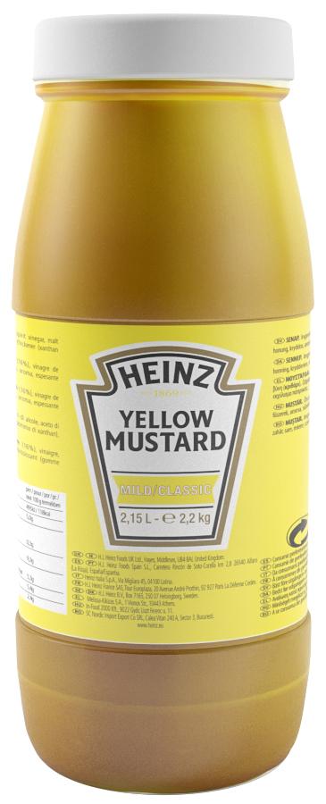 Horčica žltá 2,15l