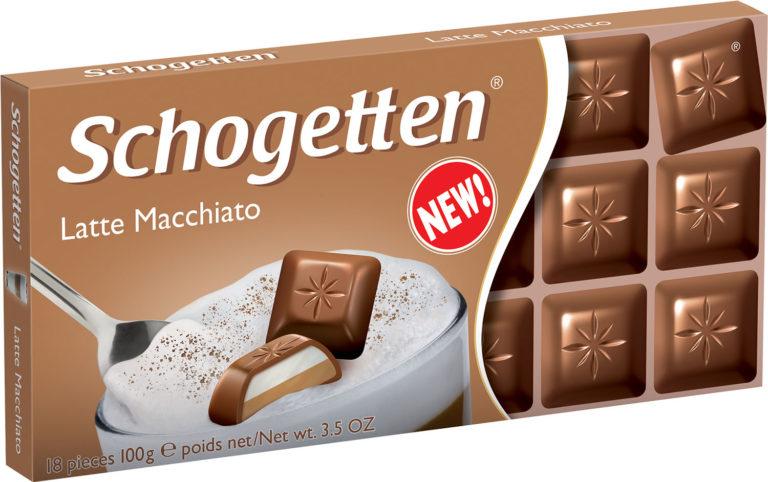 Schogetten čokoláda latte macchiato 100g