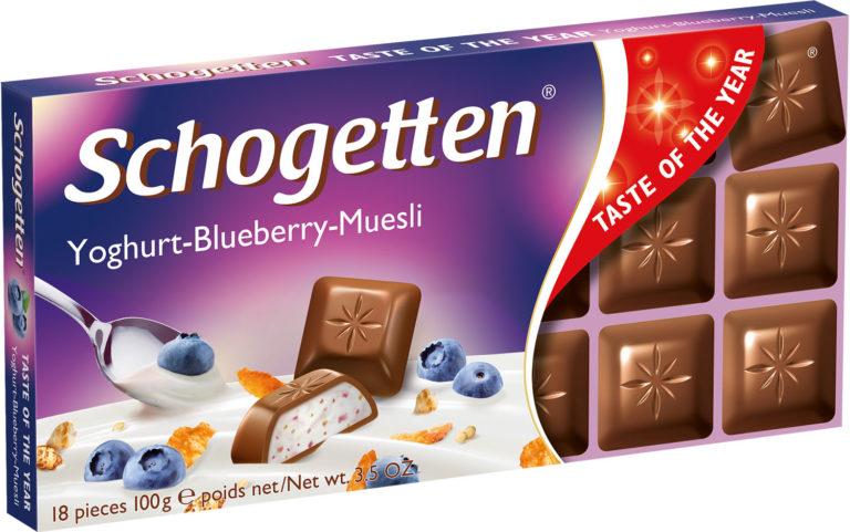 Schogetten čokoláda jogurt-čučoriedka-müsli 100g