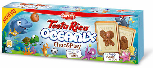 Oceanix Tosta Rica Choc&Play 115g