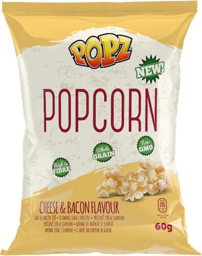Popcorn vypukaný