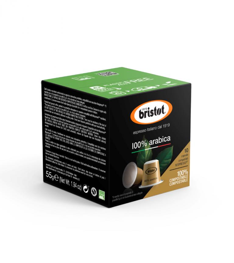Bristot capsules 100% Arabica