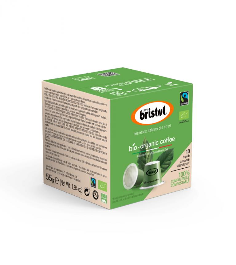 Bristot capsules BIO coffee