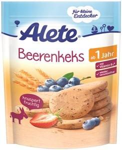 Alete sušenky spříchutí borůvek 150g