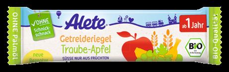 Bio jablečno-hroznová tyčinka 25G