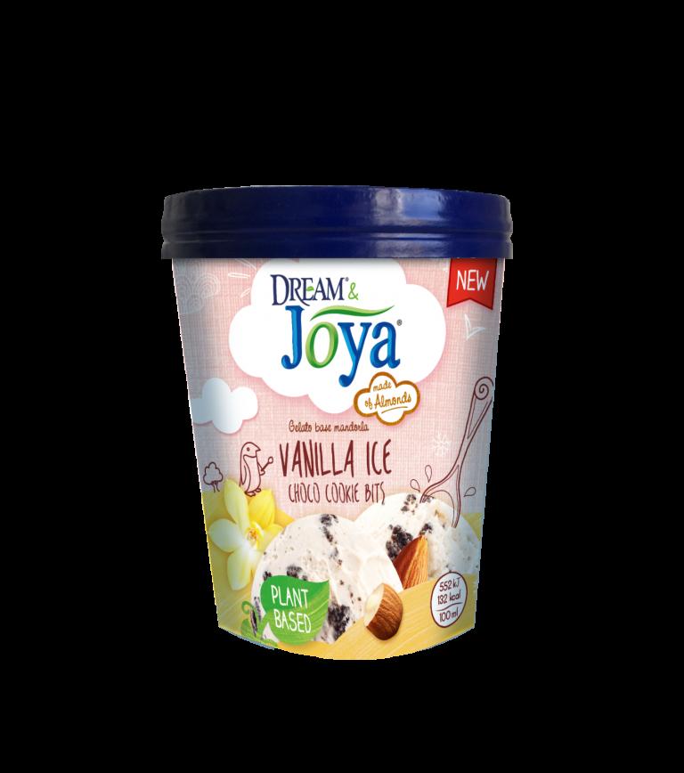 Mandlová zmrzlina s vanilkovou příchutí a kakaovými sušenkami 480 ml