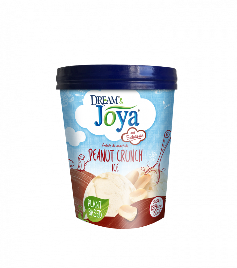 Zmrzlina s arašídovými kousky 480 ml