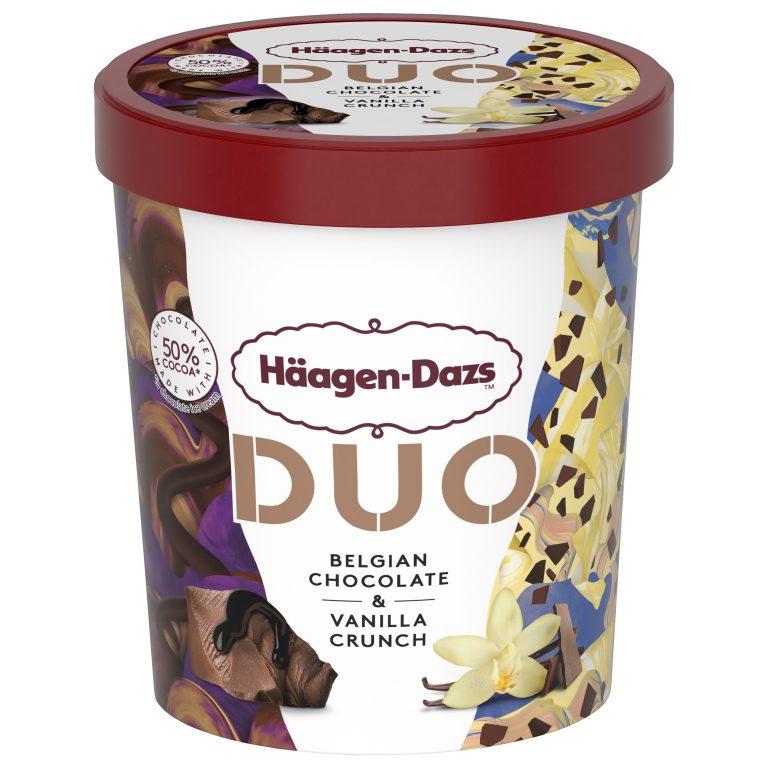 Kelímek DUO belgická čoko a vanilka 420ml