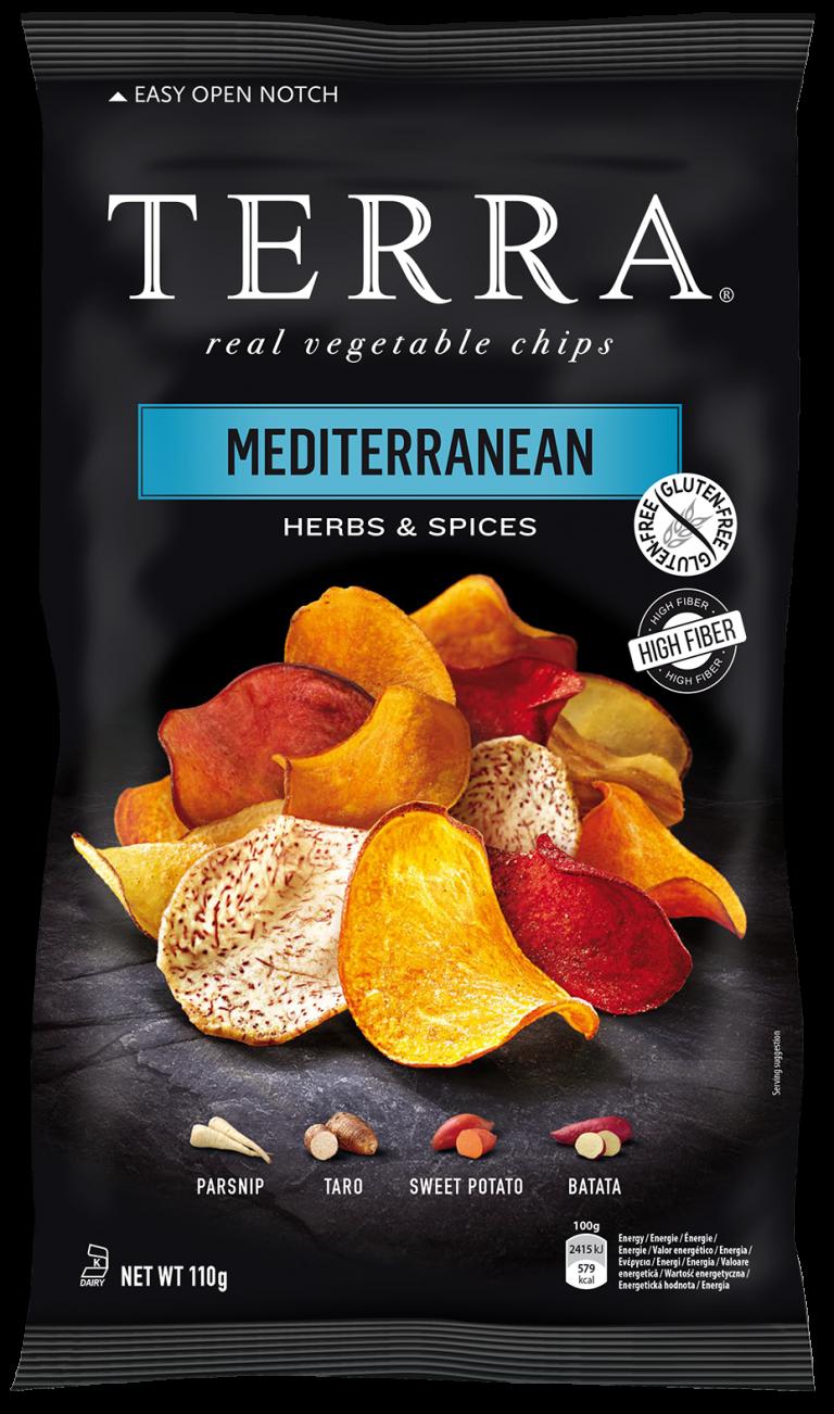 Terra Chips Mediterranean 110 g
